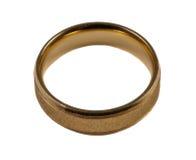 Men's wedding ring Stock Image