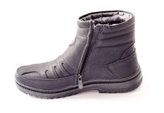 Men's winter boots Royalty Free Stock Images