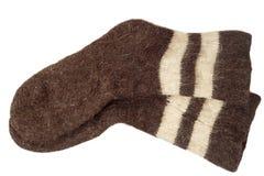 Men's wool socks Royalty Free Stock Images