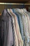 Men's work shirts Royalty Free Stock Photos