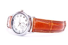 Men's wrist watch Royalty Free Stock Photos
