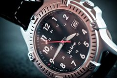 Men`s wrist watch Stock Images