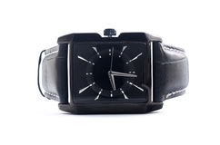 Men's Wrist Watches. Isolated on a white Royalty Free Stock Image