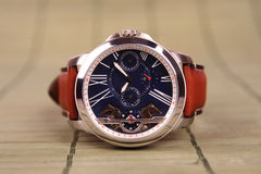 Men`s Wristwatch with Strap Royalty Free Stock Images