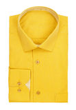 Men's yellow shirt Stock Photo