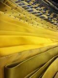 Mens yellow ties Royalty Free Stock Photo