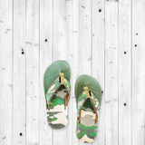 Men sandals on white wood background. Men sandals on white wood floor background Stock Photos