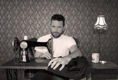 Men sewing Stock Photos