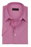 Men shirt. On the white background Royalty Free Stock Image
