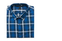 Men shirt for clothing. Isolated on white background Stock Photo