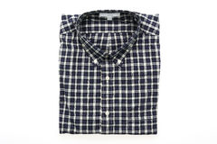 Men shirt. Fot clothes isolated on white background Royalty Free Stock Images
