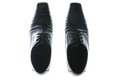 Men shoe,top view Stock Photo