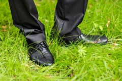 Men shoes Stock Photography
