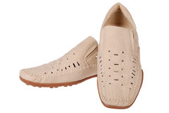 Men shoes (Clipping path) Royalty Free Stock Image