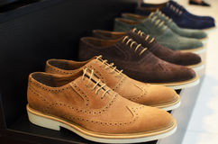 Men shoes Royalty Free Stock Photos
