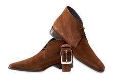 Men shoes isolated on white Stock Image
