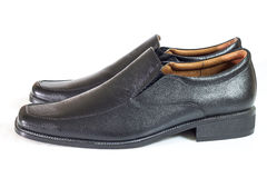 Men shoes on white background Royalty Free Stock Image