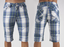 Men in shorts Stock Images