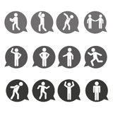 Men sign design. Illustration eps10 graphic Stock Photo