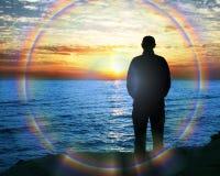 Men silhouette Stock Images