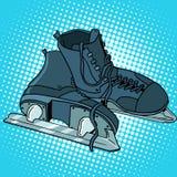 Men skates winter sports Royalty Free Stock Photography