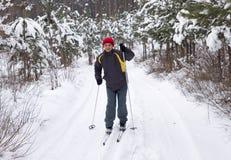 Men Skiing Royalty Free Stock Photos