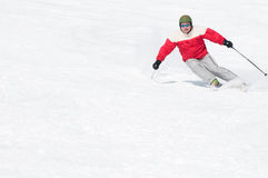 Men skiing Royalty Free Stock Photos