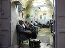 Men Smoking, Jerusalem Stock Photos
