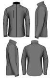 Men softshell jacket design template Stock Images