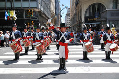 Men in soldier costume Royalty Free Stock Photo