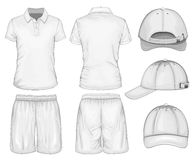 Men sport clothes Royalty Free Stock Photography