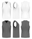 Men sport training sleeveless t-shirt. Royalty Free Stock Images