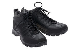 Men sports winter boots Stock Photography