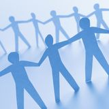 Men standing together Royalty Free Stock Image