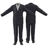 Men suit isolated on white 3D Illustration Royalty Free Stock Photography