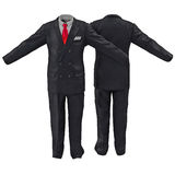Men suit isolated on white 3D Illustration Royalty Free Stock Photo