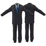 Men suit isolated on white 3D Illustration Royalty Free Stock Photos