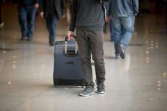 men suitcase Стоковые Фото