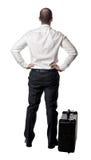 men suitcase Стоковое Фото