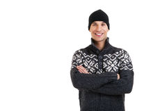 Men in sweater Stock Photography