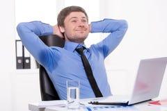 Men sweating. Royalty Free Stock Photos