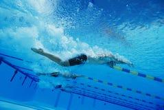 Men Swimming Underwater Royalty Free Stock Photo