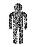 Men symbol Stock Photo