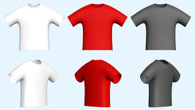 Men t-shirts vector illustration