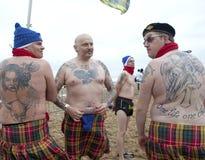 Men with tattoos Belgium Royalty Free Stock Photo