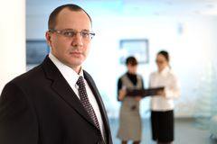 Men with tie Stock Photography