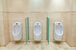 Men toilet Royalty Free Stock Images