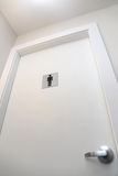 Men toilet sign Stock Image