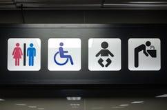Men toilet symbol Royalty Free Stock Photography