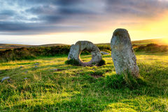Men-An-Tol in Cornwall Royalty Free Stock Photo